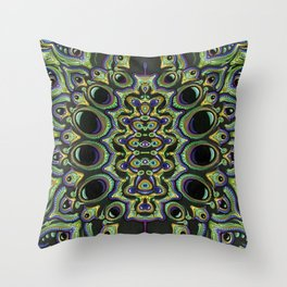 The Soul of Night Throw Pillow