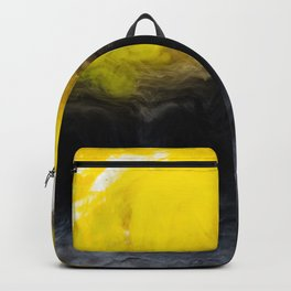 Vivid Mix Of Ink Clouds Backpack