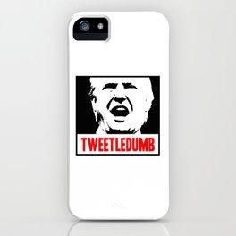 Tweetledumb iPhone Case