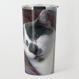 Cat Napping Travel Mug