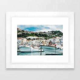 Capri Italy Fine Art Print Framed Art Print