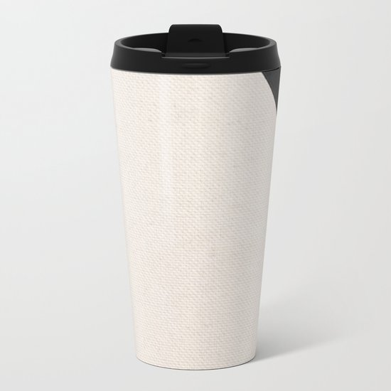 Curves Metal Travel Mug