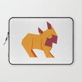 Origami French Bulldog Laptop Sleeve