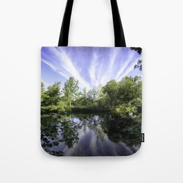 Hatfield Forest Lake England Essex Summer Tote Bag