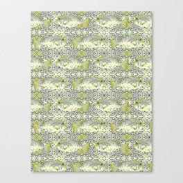 dotted fish Canvas Print