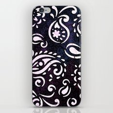 painted paisley iPhone & iPod Skin