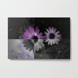 Tones in Violet Metal Print