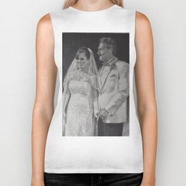 G & B Wedding portrait Biker Tank