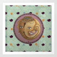ganesh Art Prints featuring Ganesh by S*TRU