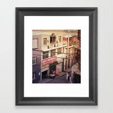 Xian Framed Art Print