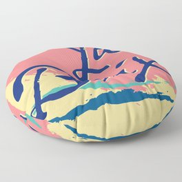 Pamplemousse AF Floor Pillow
