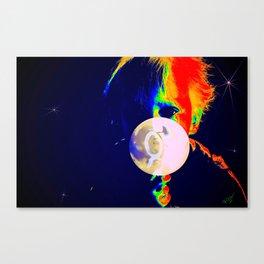 The Little Moon Maker Canvas Print