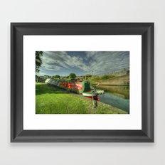 Stourport Bramble Framed Art Print
