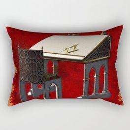 The Grand Masters Work Rectangular Pillow