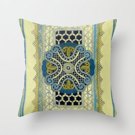 Lace Study #1 Throw Pillow