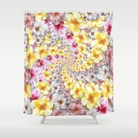 bali Shower Curtains featuring bali twist0 by gasponce