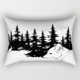 Arctic Animals - Arctic Tundra Rectangular Pillow