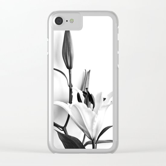 Lilium Clear iPhone Case