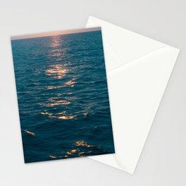 Ocean I Blue Colors I Sea I Sunset I Sun rise I Atlantic Ocean I sailing I Blue colors Stationery Cards