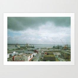 Brest, France Art Print