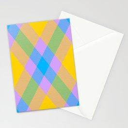 Tartan Pattern 8 Stationery Cards