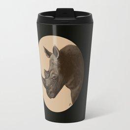 Round Rhino Travel Mug
