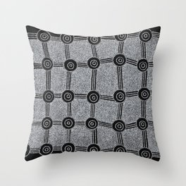 SONGLINES (INMA LAINA) Throw Pillow