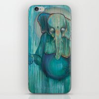 ganesh iPhone & iPod Skins featuring Ganesh  by Magick Monica