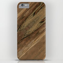 Etimoe Crema Wood iPhone Case