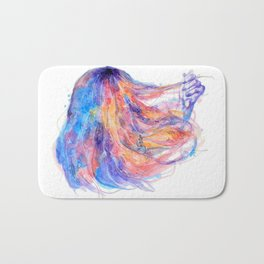 I will help you to overcome life's obstacles Bath Mat