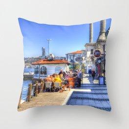 Uskudar beylerbeyi Istanbul Throw Pillow