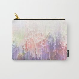 Frozen Magical Nature - Peach and Ultra-Violet Carry-All Pouch