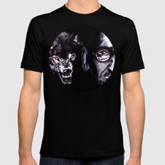 Treatise on the Steppenwolf. Not for Everybody. Black MEDIUM Mens Fitted Tee