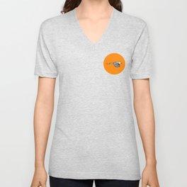 Circle Orange Magpie - Humans Against Climate Change Unisex V-Neck