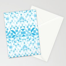 Geomtric Pastel Wave Stationery Cards
