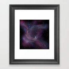 Nebula IX Framed Art Print
