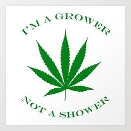 Marijuana Dispensary Legal Weed Art Print