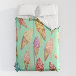 melted ice creams Comforters