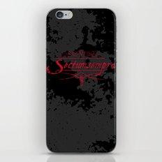 Harry Potter Curses: Sectumsempra iPhone & iPod Skin