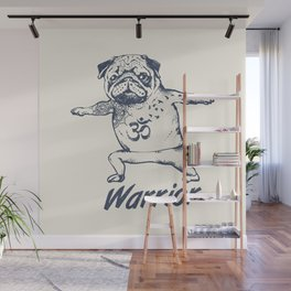 Be a Warrior Wall Mural