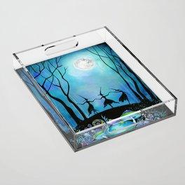 Halloween Dance Acrylic Tray