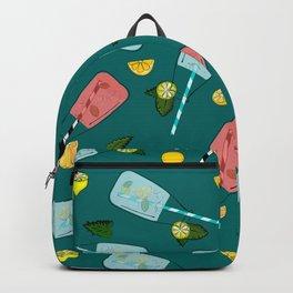 Cocktail vs lemons Backpack