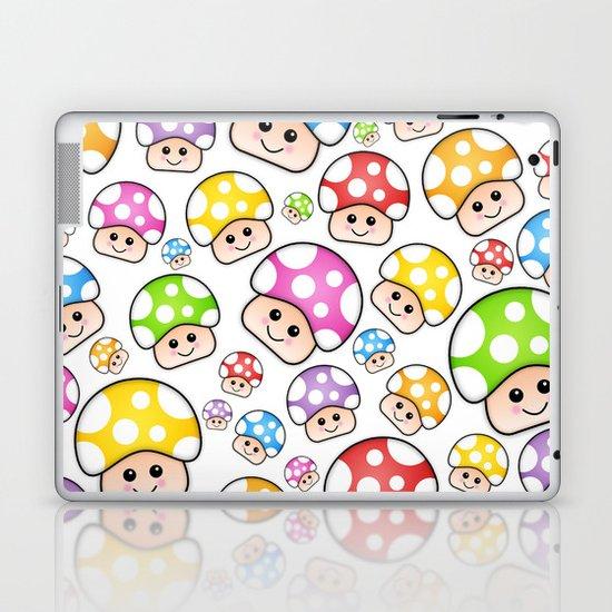 Iddy Diddy Mushrooms  Laptop & iPad Skin