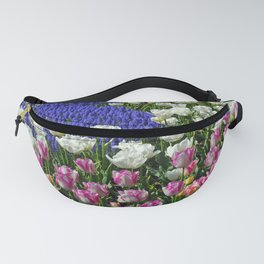 Spring colors garden Fanny Pack