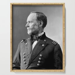 William Tecumseh Sherman Portrait Serving Tray