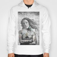 sia Hoodies featuring VENUS ILLUSTRATED by Julia Lillard Art