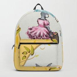 Dressed Easter Bunnies 2 Backpack
