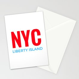 NYC Liberty Island Stationery Cards