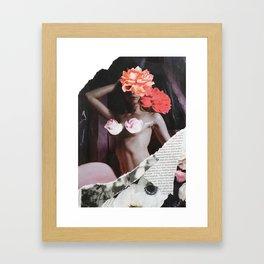 Flower Babe Framed Art Print