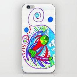 Caracol-box iPhone Skin